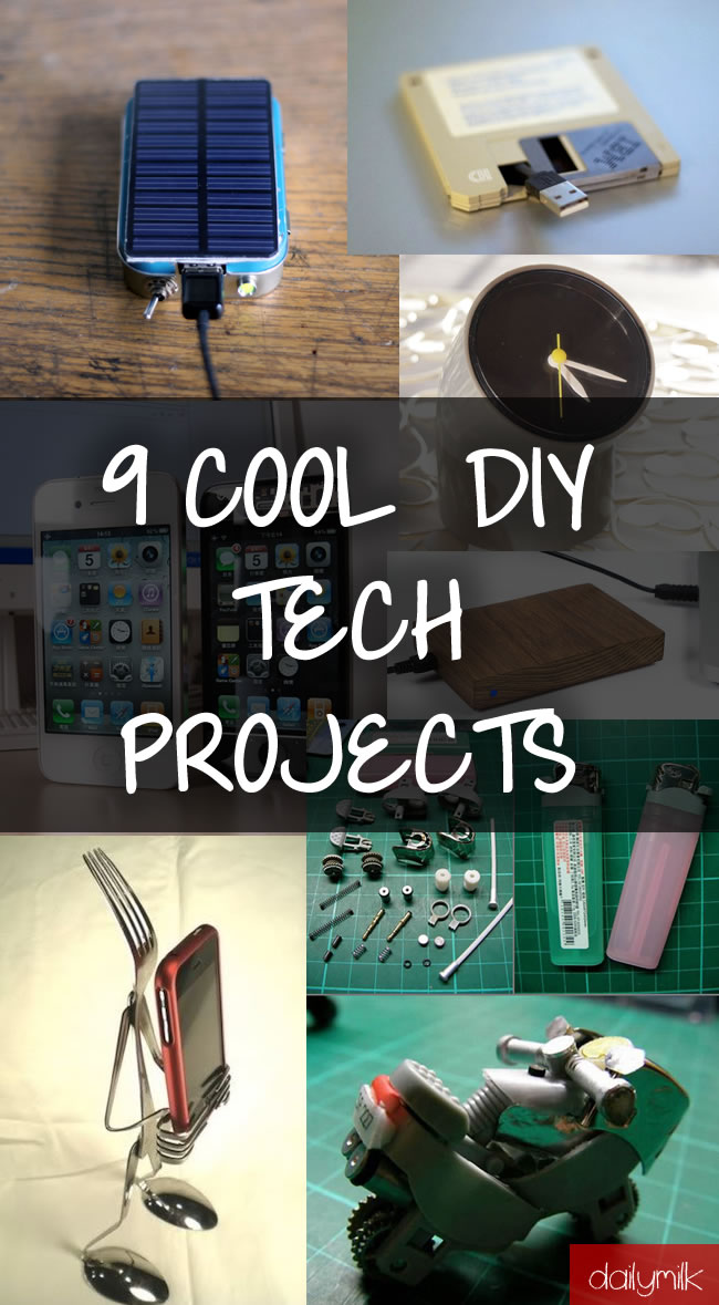 9 cool diy tech projects to impress your friends dailymilk