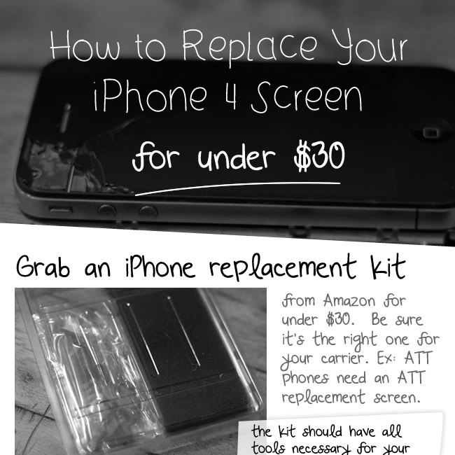 How to Replace an iPhone 4 Screen for Under $30 | DailyMilk