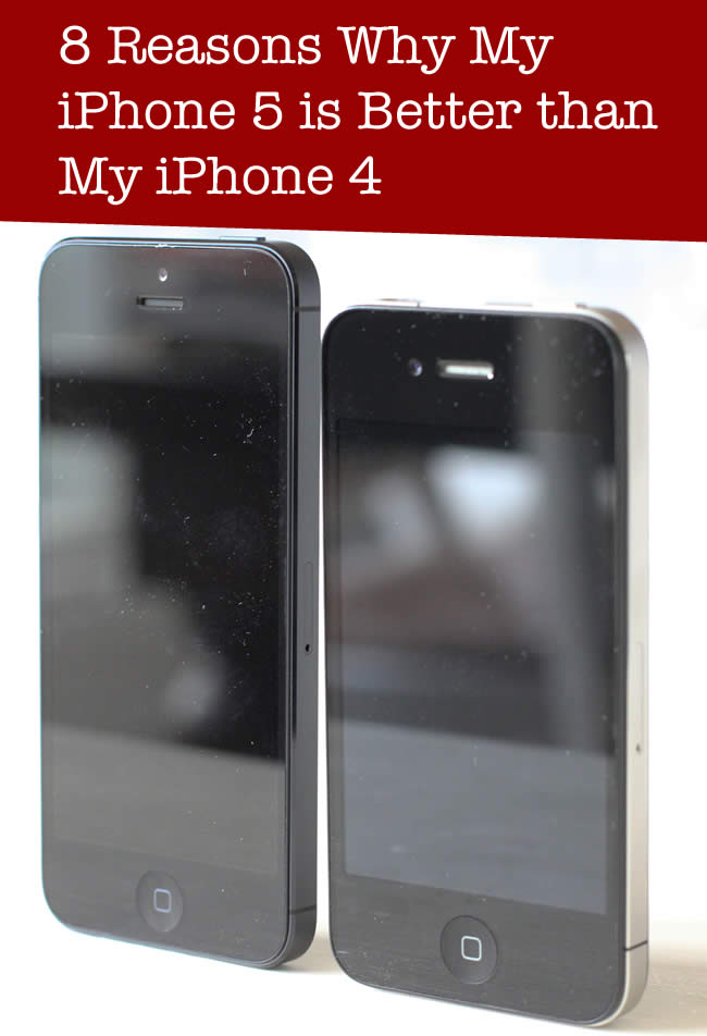 reasons iphone 5 over iphone 4