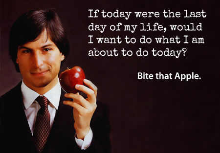 Steve Jobs If Today Was Your Last Day Quote