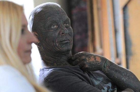 Tattoo Faced Candidate Most Tattooed Man To Ever Run For