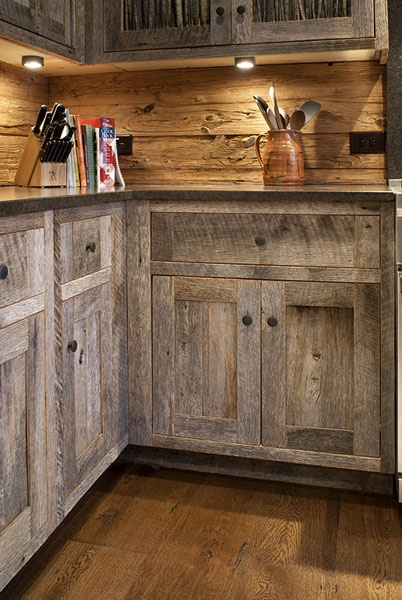 reclaimed wood cabinets for kitchen rustic kitchen design inspiration dailymilk 25140