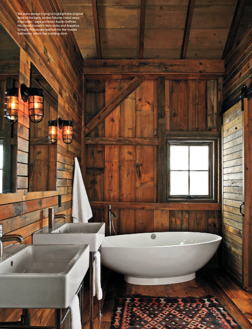 Rustic Attic Bathroom