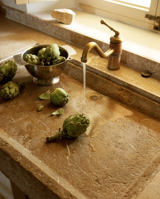 rustic-kitchen-sink