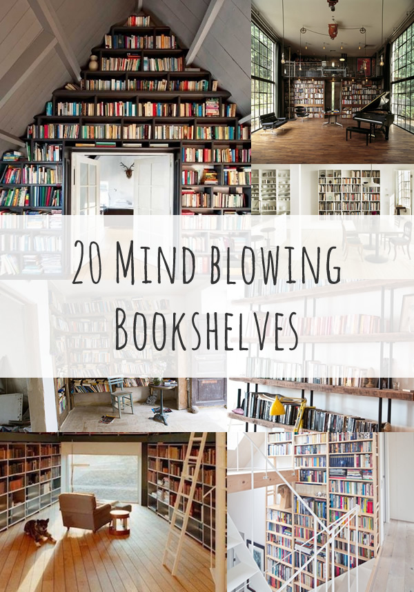 Bookshelf Ideas Inspiration Diy Bookshelf Ideas
