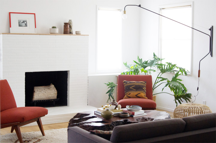 bright-white-painted-brick-fireplace