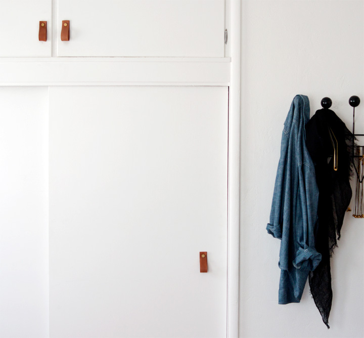 leather-handle-diy-doors