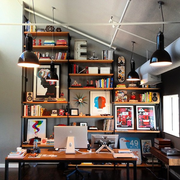 cool-rustic-office-desk