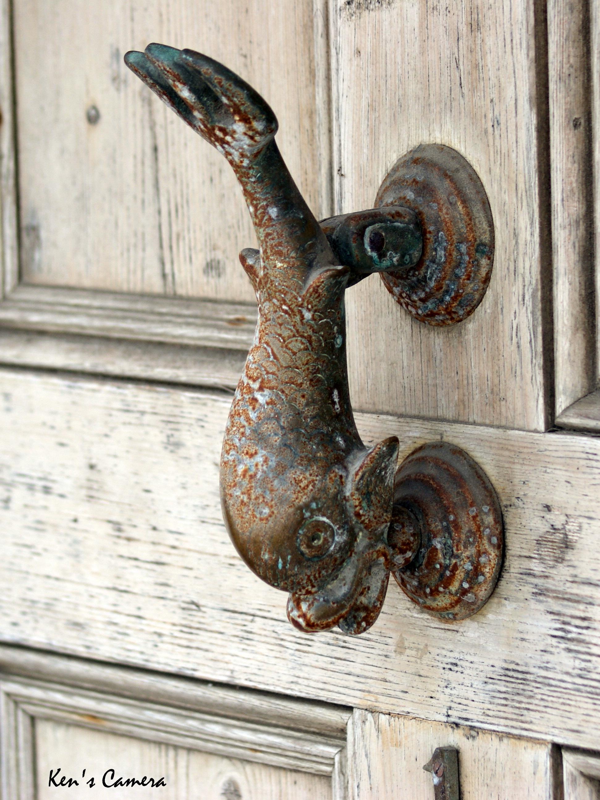 fish-door-knocker