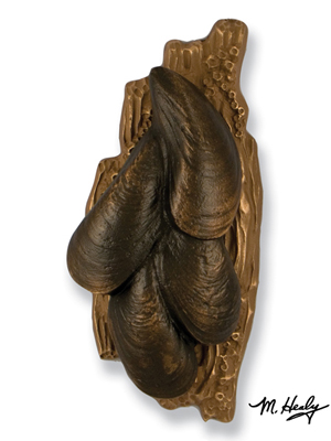 mussels-door-knocker-bronze