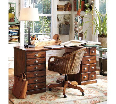 pottery-barn-printers-desk-wood-rustic