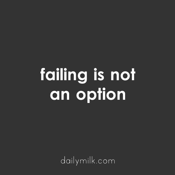 failing-is-not-an-option-quote
