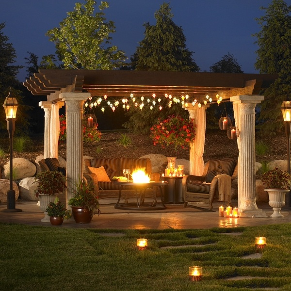 Patio Pergola And Deck Lighting Ideas And Pictures: 44 Amazing Ideas For Your Backyard Patio And Deck Space