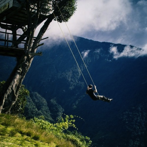 swing-on-cliff